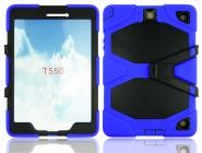 Survivor protective hybrid tablet case for Galaxy Tab A 9.7inch T550