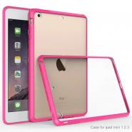 Anti-scratch HD clear hybrid case for iPad mini 7.9inch back cover