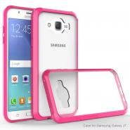 Scratchproof HD clear back phone case for Galaxy J7