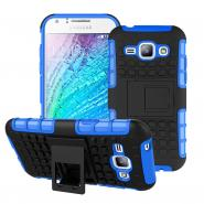 Stand armor ballistic case for Galaxy J1 anti-scratch back cover