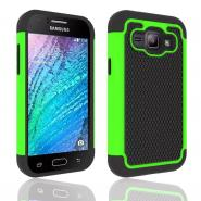 Anti-skid football style defender case for Galaxy J1