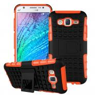 Stand armor ballistic case for Galaxy J5 anti-scratch back cover
