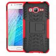 Foldable stand ballistic armor case for Galaxy J3
