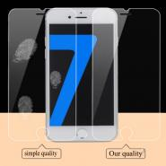 9H hardness HD tempered glass screen protector for iPhone 7
