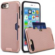 Knitted mesh fashion rugged hybrid case for iPhone 7Plus