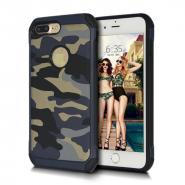 Hard Plastic camouflage PU rugged case for iPhone 7