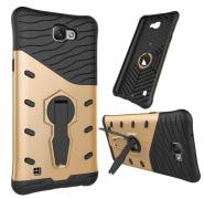 Rugged war armor rotated stand case for LG X Max