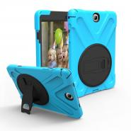 360 rotating stand silicone case for Galaxy Tab A 9.7inch