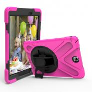 Handstrap robot impactproof case for Galaxy Tab A T550