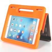 Leather durable kids safety laptop case for iPad mini with EVA handle